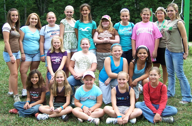 Adair county 4 h campers check in with photos roster on for The girl in the cabin