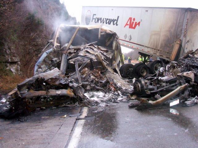 Massive Fatality Crash on I-65 at Mile Marker 66 6 (Photo