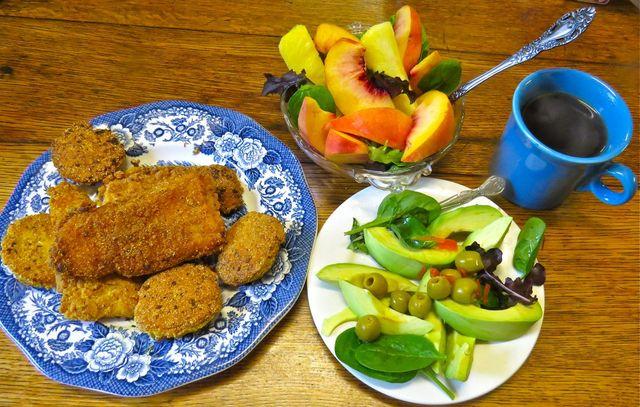 Epicurean kentuckian making do for sunday breakfast on for Swai fish walmart