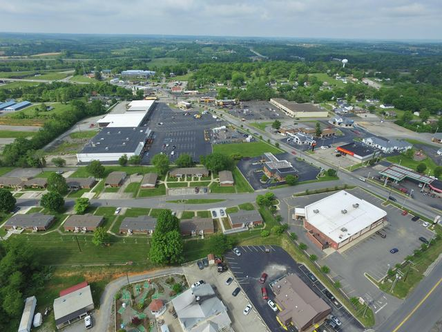 jason mardis aerial view cvs to best western and bomar hts on