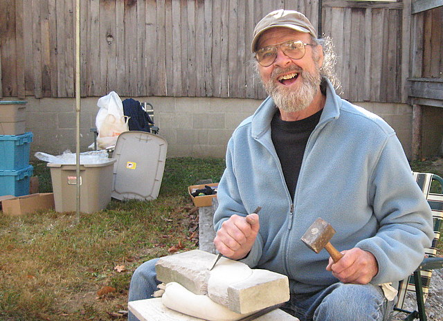 Wyman Rice will demonstrate pottery making at Berea on